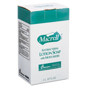AbilityOne® 8520015220831, SKILCRAFT, GOJO Antibacterial Lotion Soap, Unscented, 2,000 mL, 4/Box Item: NSN5220831