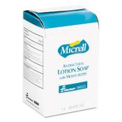 AbilityOne® 8520015220834, SKILCRAFT, GOJO Antibacterial Lotion Soap, Floral, 1,000 mL Refill, 8/Carton Item: NSN5220834