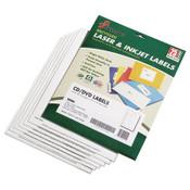 AbilityOne® 7530015549538, Avery CD/DVD Label Maker Kit, Refills, 50/Pack Item: NSN5549538
