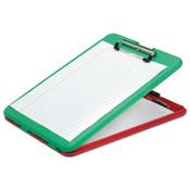 AbilityOne® 7520016535890 SKILCRAFT Portable Desktop Clipboard, 9 1/2 x 13 1/2, Red/Green Item: NSN6535890